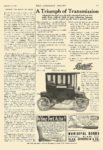 "1910 9 16 DETROIT Electric Model ""M"" A Triumph of Transmission Anderson Carriage Company Detroit, MICH The Literary Digest September 16, 1910 8.5″x11.75″ page 405"