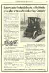1910 DETROIT Electric A Triumph of Transmission Anderson Carriage Company Detroit, MICH EVERYBODY'S MAGAZINE 6″x8.5″ page 55