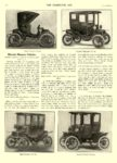 1911 1 25 DETROIT Electric DETROIT ELECTRIC COUPE ANDERSON ELECTRIC CAR COMPANY Detroit, MICH THE HORSELESS AGE January 25, 1911 8.5″x12″ page 192