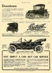 1911 4 6 DETROIT Electric Downtown ANDERSON ELECTRIC CAR COMPANY Detroit, MICH MOTOR AGE April 6, 1911 8.5″x12″ page 99