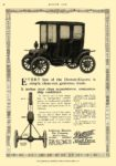 1911 8 10 DETROIT Electric EVERY line of the Detroit-Electric Anderson Electric Car Company Detroit, MICH MOTOR AGE August 10, 1911 8.25″x12″ page 56
