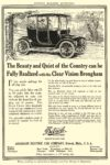 1912 ca. DETROIT Electric The Beauty and Quiet of the Country ANDERSON ELECTRIC CAR COMPANY Detroit, MICH HARPER'S MAGAZINE ADVERTISER ca. 1912 5.75″x8.75″