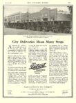 1912 5 18 DETROIT Electric Commercial Vehicles City Deliveries Mean Many Stops Anderson Electric Car Company Detroit, MICH The Literary Digest May 18, 1912 8.25″x11.75″ page 1057