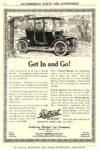 1912 ca. DETROIT Electric Get In and Go! Anderson Electric Car Company Detroit, MICH SCRIBNER'S MAGAZINE ca. 1912 6″x9″