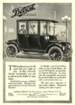 1912 DETROIT Electric THIS handsome escort will never fail Anderson Electric Car Co. Detroit, MICH 1912 6″x8.25″