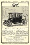 1914 11 DETROIT Electric Adapted to Every Requirement Anderson Electric Car Company Detroit, MICH Good Housekeeping Magazine November 1913 6.5″x9.5″ page 29