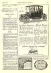 1913 12 20 DETROIT Electric Let Santa Announce a Detroit Electric Anderson Electric Car Company Detroit, MICH The Literary Digest December 20, 1913 9″x12″ page 1243