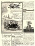1913 2 DETROIT Electric Why Not Buy a Detroit Electric? ANDERSON ELECTRIC CAR COMPANY Detroit, MICH COUNTRY LIFE IN AMERICA February 1913 9.25″x12.5″ page 100