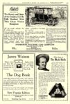 1913 4 DETROIT Electric The Beauty and Quiet of the Country ANDERSON ELECTRIC CAR COMPANY Detroit, MICH COUNTRY LIFE IN AMERICA April 1913 9.75″x14″ page 137