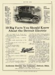 1913 12 18 DETROIT Electric 10 Big Facts You Should Know Anderson Electric Car Company Detroit, MICH MOTOR AGE December 18, 1913 8.5″x11.5″ page 67