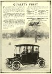 1914 DETROIT Electric QUALITY FIRST Anderson Electric Car Company Detroit, MICH 1913 7.25″x10.25