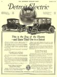 1915 11 14 DETROIT Electric This is the Day of the Electric The Anderson Electric Car Company Detroit, MICH THE SATURDAY EVENING POST November 14, 1914 10.25″x14.25″ page 56