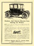 1914 3 28 DETROIT Electric Henry Ford and Thos. A. Edison buy The Anderson Electric Car Company Detroit, MICH THE SATURDAY EVENING POST March 28, 1914 10.5″x14″ page 95
