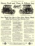 1914 3 28 DETROIT Electric Henry Ford and Thos. A. Edison buy The Anderson Electric Car Company Detroit, MICH THE SATURDAY EVENING POST March 28, 1914 10.5″x14″ page 44