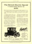 1914 5 21 DETROIT Electric The Detroit Electric Special $2550 The Anderson Electric Car Company Detroit, MICH MOTOR AGE May 21, 1914 8.5″x12″ page 79