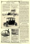 1914 DETROIT Electric Quality First The Anderson Electric Car Co. Detroit, MICH THE THEATRE MAGAZINE ADVERTISER 1914 9.25″x14″ page 46