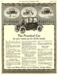 1916 12 4 DETROIT Electric The Practical Car The Anderson Electric Car Company Detroit, MICH THE SATURDAY EVENING POST December 4, 1915 10″x13″ page 44