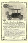 1915 12 DETROIT Electric Too Big to Come Down the Chimney! Anderson Electric Car Co. Detroit, MICH HARPER'S MAGAZINE ADVERTISER December 1915 6.75″x9.5″