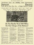 1917 9 29 DETROIT Electric Do You Really Need 200 Miles ANDERSON ELECTRIC CAR COMPANY Detroit, MICH THE SATURDAY EVENING POST September 29, 1917 10.5″x13.75″ page 79