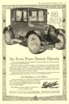 1919 12 20 DETROIT Electric An Even Finer Detroit Electric DETROIT ELECTRIC CAR COMPANY Detroit, MICH The Literary Digest December 20, 1919 8.5″x11.75″ page 107