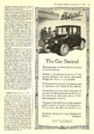 1920 1 17 DETROIT Electric The Car Desired DETROIT ELECTRIC CAR COMPANY Detroit, MICH The Literary Digest January 17, 1920 9″x12″ page 135
