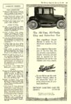 1920 1 3 DETROIT Electric The All-Year, All-Family City and DETROIT ELECTRIC CAR CO. Detroit, MICH The Literary Digest January 3, 1920 8″x12″ page 107
