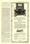 1920 2 14 DETROIT Electric Lovers of Fine Cars— See This New Detroit Electric DETROIT ELECTRIC CAR CO. Detroit, MICH The Literary Digest February 14, 1920 9″x12″ page 115