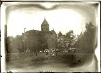 School EW Carter photo ca. 1900 Glass negative: 7″x5″
