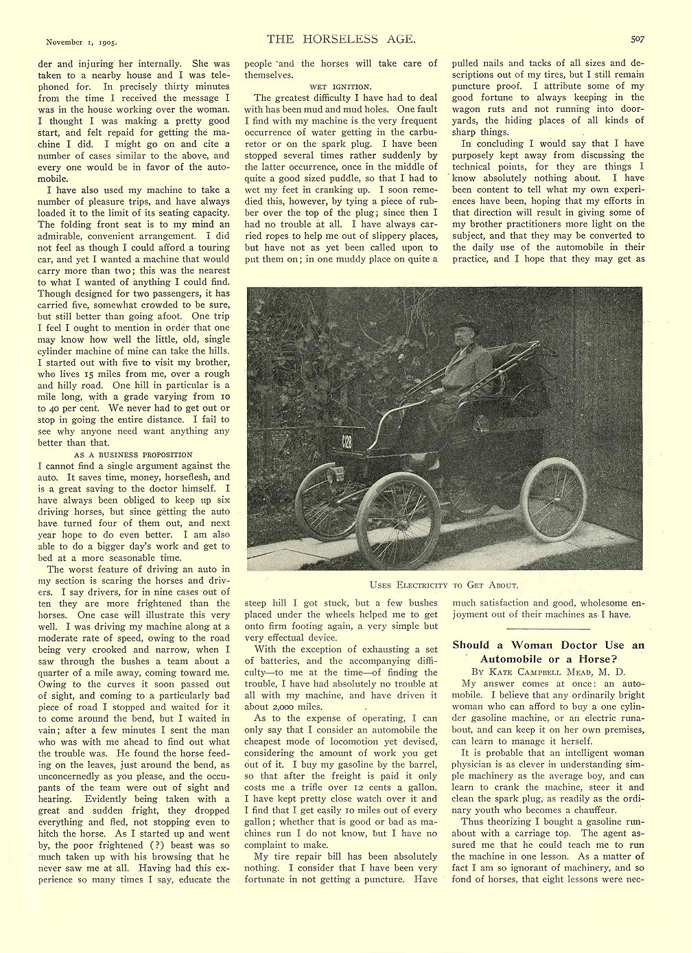 1900-1909 Electric Car articles Archives - Chuck's Toyland