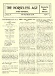 1905 2 15 ELECTRIC Vehicle Article Electric Vehicle Charging Facilitated THE HORSELESS AGE February 15, 1905 University of Minnesota Library 8.25″x12″ page 1