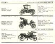 1910 ELECTRIC PLEASURE CARS. FRITCHIE     BROC     BAKER MoToR's 1910 MoToR CAR DIRECToRY Published By MoToR, New York 10″x7.25″ page 111