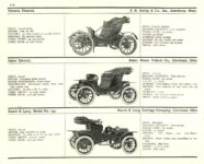 1910 ELECTRIC PLEASURE CARS. BAILEY     BAKER     RAUCH & LANG MoToR's 1910 MoToR CAR DIRECToRY Published By MoToR, New York 10″x7.25″ page 112