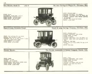 1910 ELECTRIC PLEASURE CARS. BROC     RAUCH & LANG     FRITCHIE MoToR's 1910 MoToR CAR DIRECToRY Published By MoToR, New York 10″x7.25″ page 116