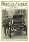 1911 1 14 ELECTRIC Vehicle Picture THOMAS A. EDISON AND HIS IMPROVED STORAGE BATTERY Scientific American January 14, 1911 10.5″x15.25″ page 1