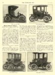 1911 1 25 ELECTRIC Vehicle Article Electric Pleasure Vehicles BABCOCK, BAKER, BROC, OHIO THE HORSELESS AGE January 25, 1911 8.5″x12″ page 192