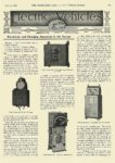 1912 5 1 Electric Article Electricity and Charging Apparatus in the Garage THE HORSELESS AGE May 1, 1912 Vol 29 No 18 University of Minnesota Library 8.75″x11.75″ page 827