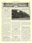 """1912 6 19 Electric Article Rain Curtails """"Suburbaning"""" Electric Run THE HORSELESS AGE June 19, 1912 University of Minnesota Library page 8.75″x11.75″ 1057"""