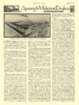 1912 10 3 ELECTRIC Vehicle Article Among the Makers and Dealers Electric Car Show for New York MOTOR AGE October 3, 1912 University of Minnesota Library 8.25″x12″ page 44
