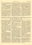 1913 10 23 ELECTRIC Vehicle Article Teaching Women To Drive Electrics Operating Costs for Electrics MOTOR AGE October 23, 1912 8.25″x12″ page 30