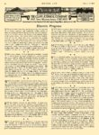 1913 10 23 ELECTRIC Vehicle Article Electric Progress MOTOR AGE October 23, 1912 8.5″x11.75″ page 42