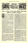 1913 5 ELECTRIC Vehicle Article Some of New York City's Most Interesting Electric Vehicle Garages AUTOMOBILE TRADE JOURNAL May 1913 6.5″x10″ page 247