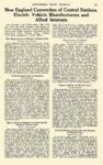 1914 ca. ELECTRIC Vehicle Article New England Convention Electric Vehicle Manufacturers AUTOMOBILE TRADE JOURNAL ca. 1914 6.25″x10″ page 231