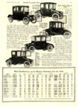 1916 2 Electric Passenger Cars Brief Specifications of Electric Cars 1916 MoToR February 1916 10″x14″ page 63
