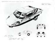 "The Electric ""SPIRIT OF '76"" Experimental Cars – General Engines Co., Inc Sewell, New Jersey 10″x8″"