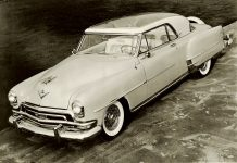 1953 CHRYSLER La Contesse 10″x8″ black & white photograph