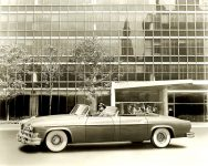 1952 CHRYSLER Parade Phaeton 10″x8″ black & white photograph H-2201