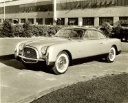 "1952 CHRYSLER ""Special"" 10″x8″ black & white photograph"