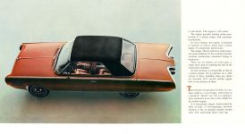 1962 CHRYSLER Turbine Car The Story Behind the Car Chrysler Corporation 7.5″x7.5″ pages 4 & 5