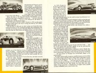 Chrysler's Thunderbolt and Newport New Milestones in Airflow Designs Dated: March 1941 CS. 1021 200M-3-41 5.5″x8.5″ pages 3 & 4