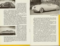 Chrysler's Thunderbolt and Newport New Milestones in Airflow Designs Dated: March 1941 CS. 1021 200M-3-41 5.5″x8.5″ pages 5 & 6